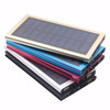Customized High Capacity Super Solar Power Bank 10000mah with Led Light